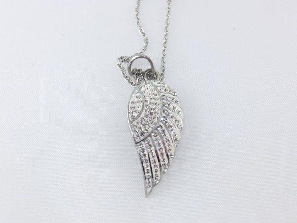6592CH6 Halskette Engelsflügel