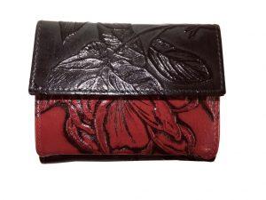 7220DG8A Déqua Minigeldbörse rot-schwarz