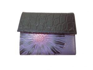 7220DG8C déqua Mini-Geldbörse violett-schwarz