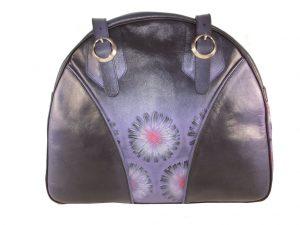 7218DT8 déqua Tasche groß violett-schwarz