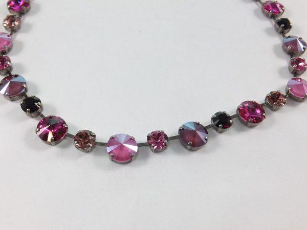 7238PH8B Halskette mit SWAROVSKI Elements