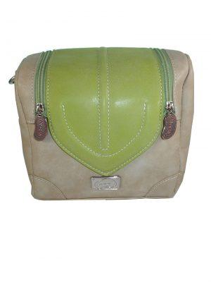 7263HT8C Tasche Hi-Di-Hi grün-beige