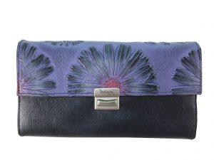 8358DG0 déqua G9 Unikat Geldbörse Blume violett