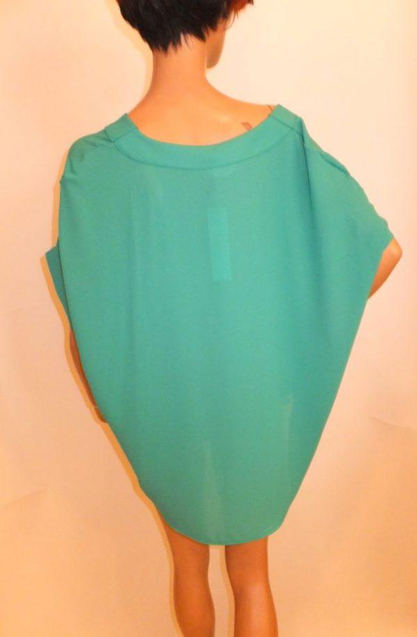 7298BT8 Blusen-Shirt grün Gr 38-40