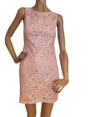 7349BK8 Kleid rose Gr 36
