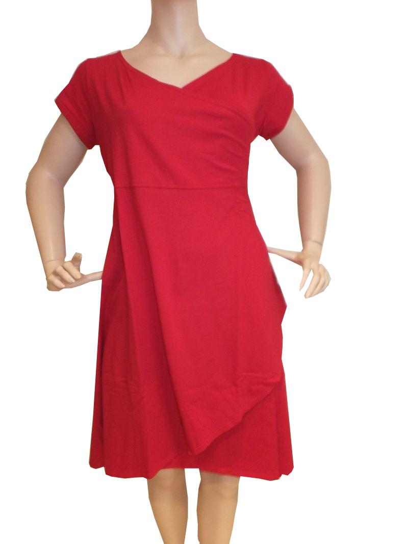 9BK9rot Kleid Gr 49 9