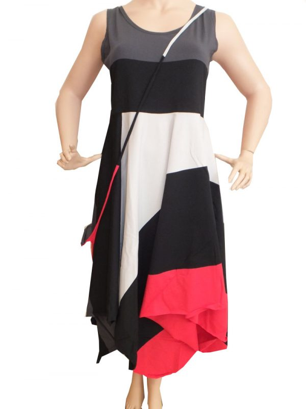 7405MK8 Kleid mitz Tasche Gr 42