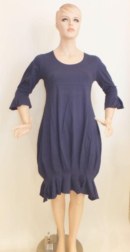 7436MK8 Kleid blau Gr 46