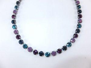 3026PH2B Halskette türkis-violett