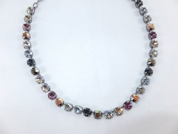 3026PH3E Halskette  rose-kupfer-beige