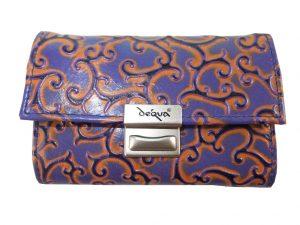 7587DG8B déqua G10 Geldbörse violett-orange