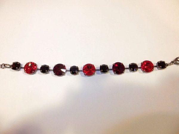 3029PA0r Armband rot