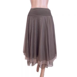 8510LR1 Petticoat-Rock Lalamour taupe Gr 36 - 44