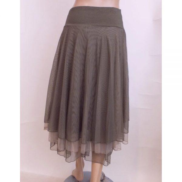 8510LR1 Petticoat-Rock Lalamour taupe Gr 36 - 44