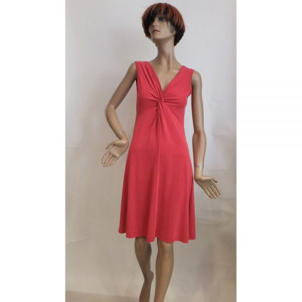 8518PK1 Kleid rot Gr 38, 40 u 42
