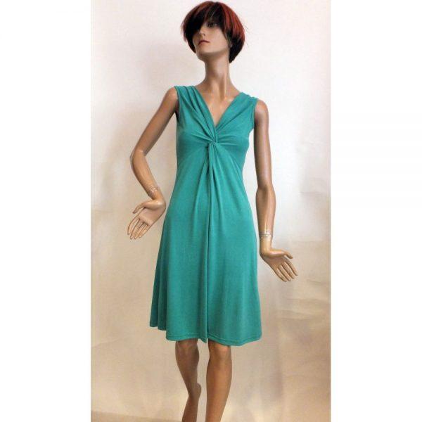 8519PK1 Kleid grün Gr 36 u 42