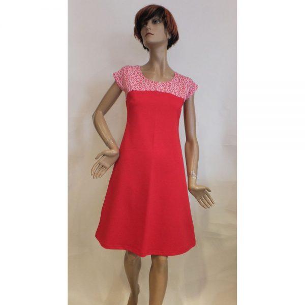 8520PK1 Kleid Mrs Pepper rot Gr 36, 40 u 44