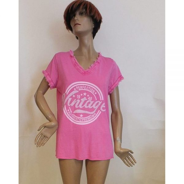 8568WT1 Tshirt pink Gr 36-40