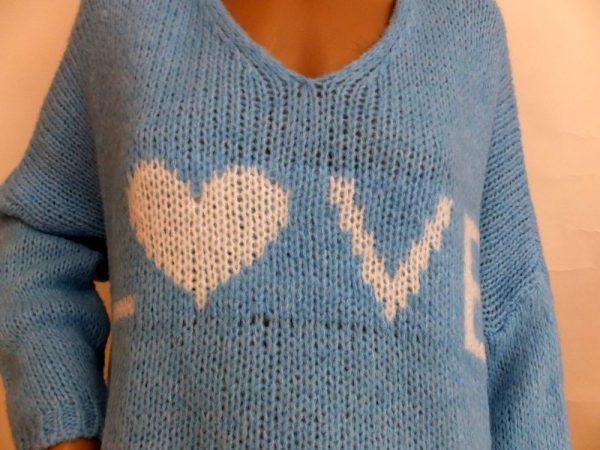 8591MP1 Pulli Love in versch. Farben Gr 36-44