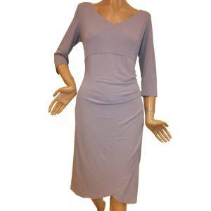 8655SK1 Kleid Swing Flieder Gr 44